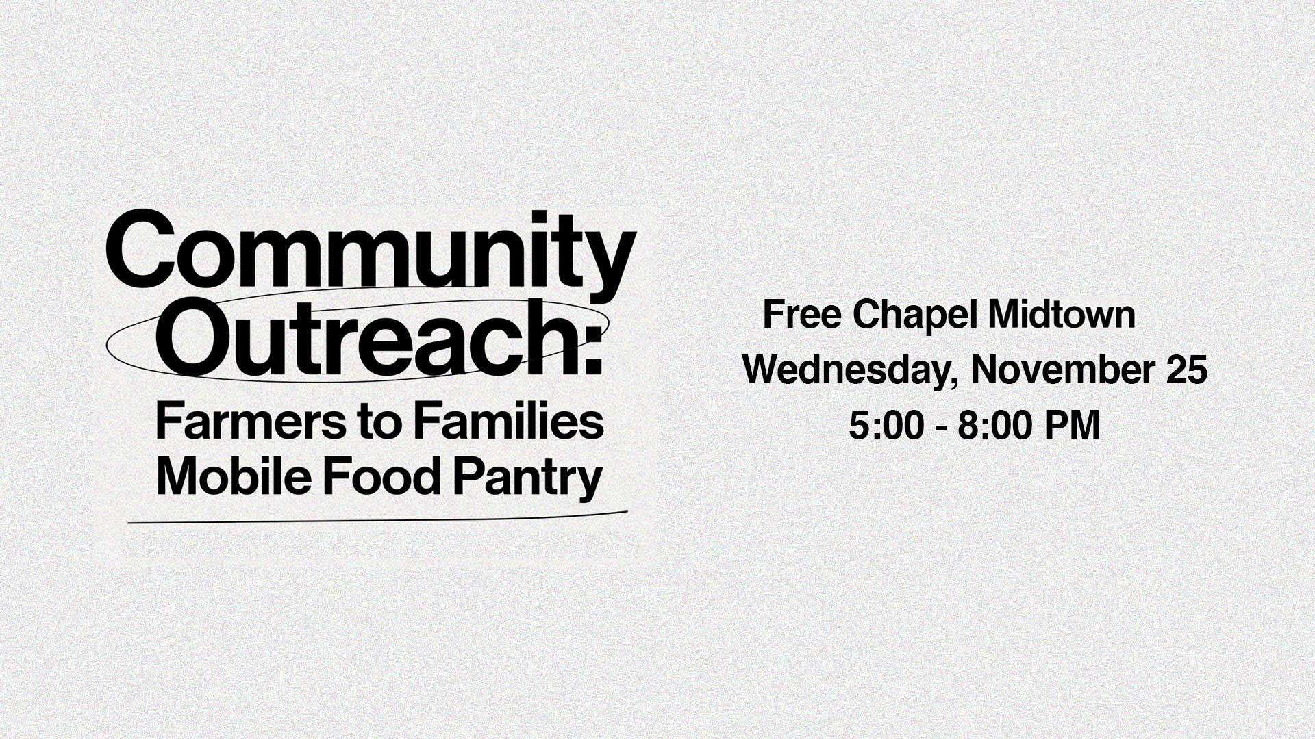 Community Outreach at the Midtown campus