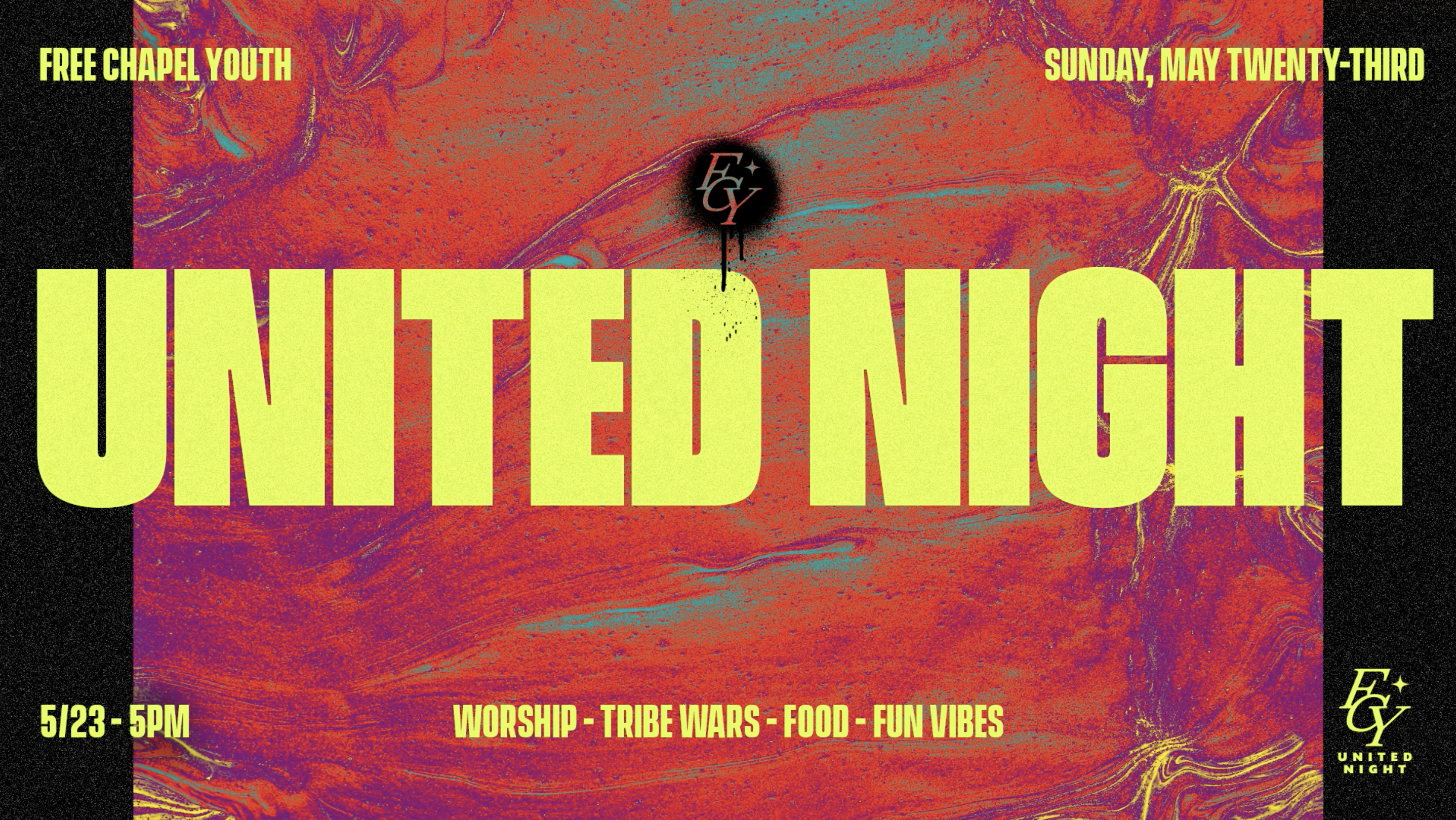 FCY United Forward Night at the Gainesville campus