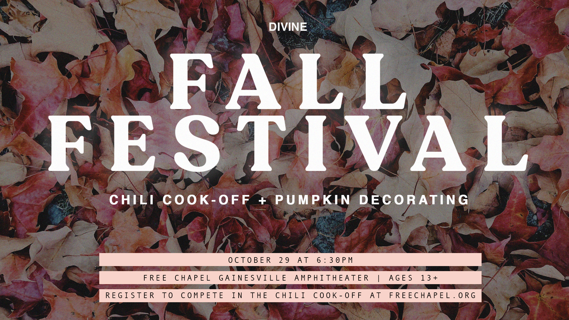 Divine Fall Festival at the Gainesville campus