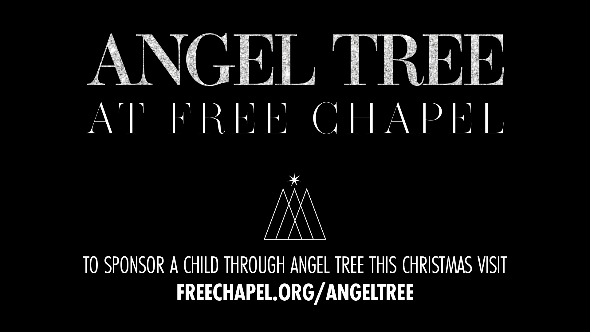 Angel Tree at the Buford campus