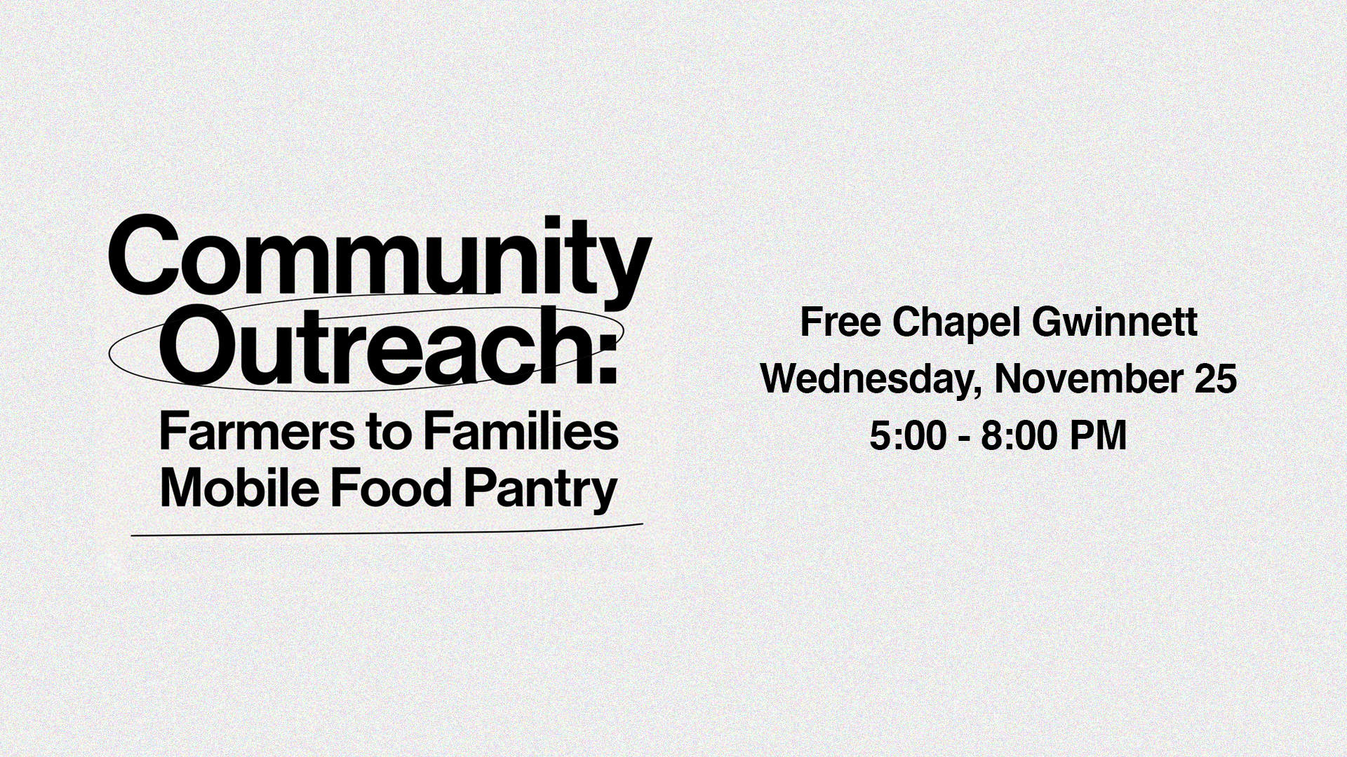 Community Outreach at the Gwinnett campus