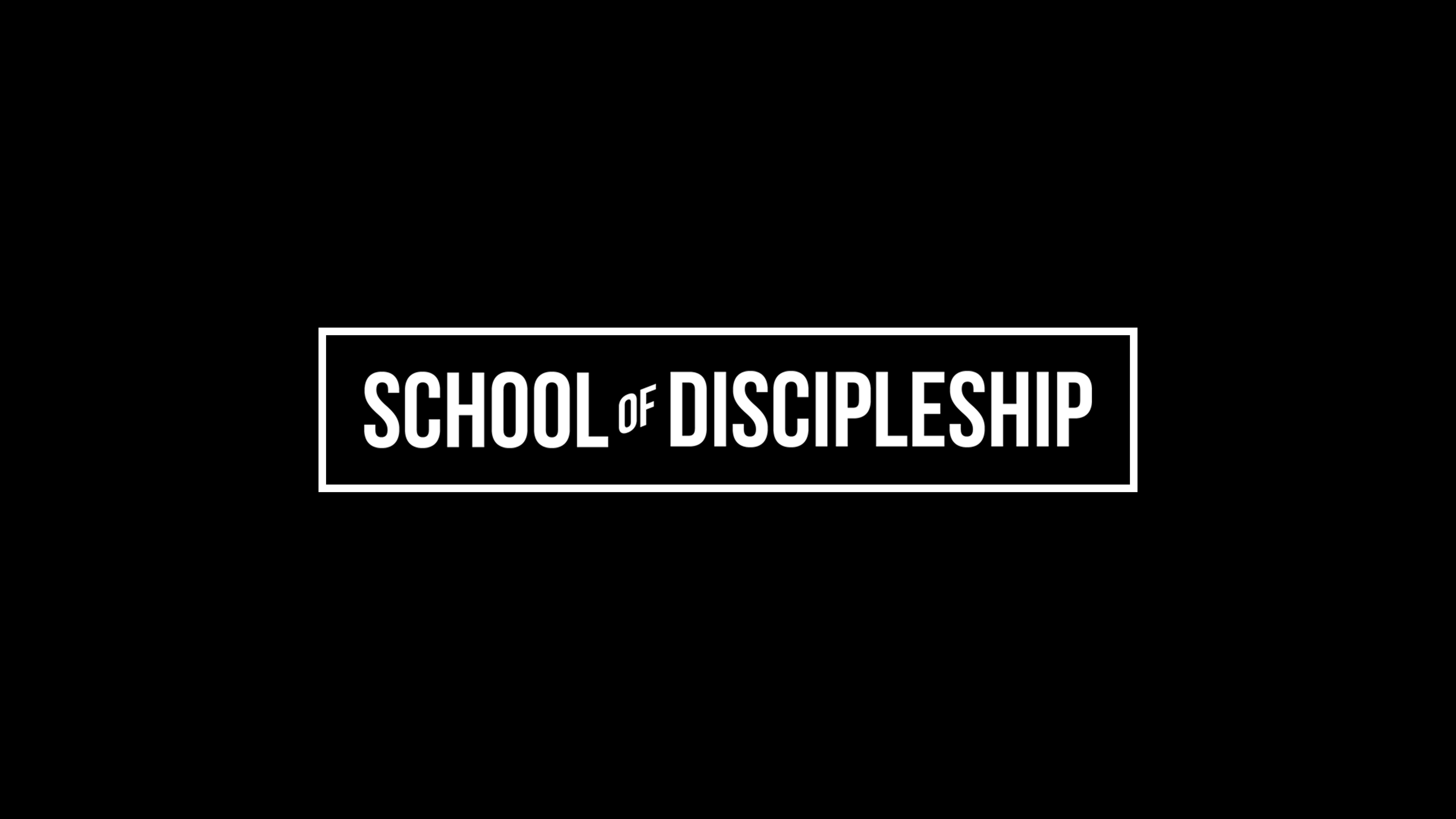 School of Discipleship at the Cumming campus