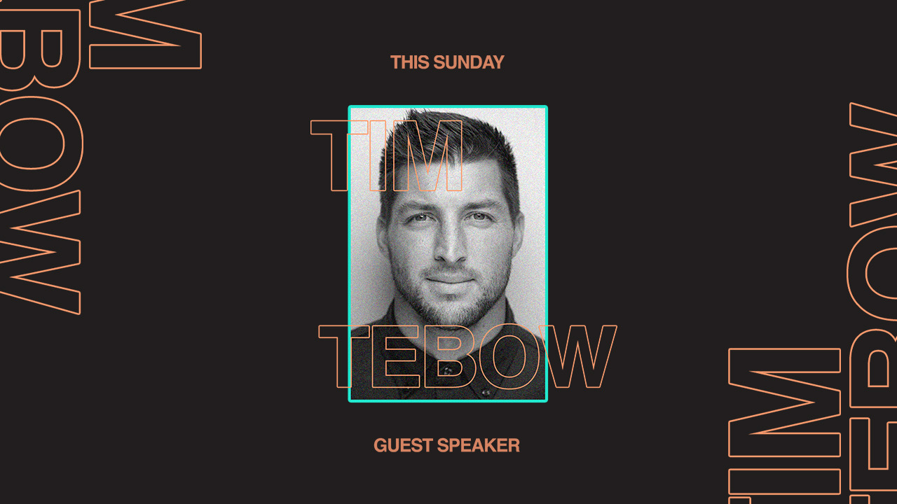 Special Guest Tim Tebow at the Orange County campus