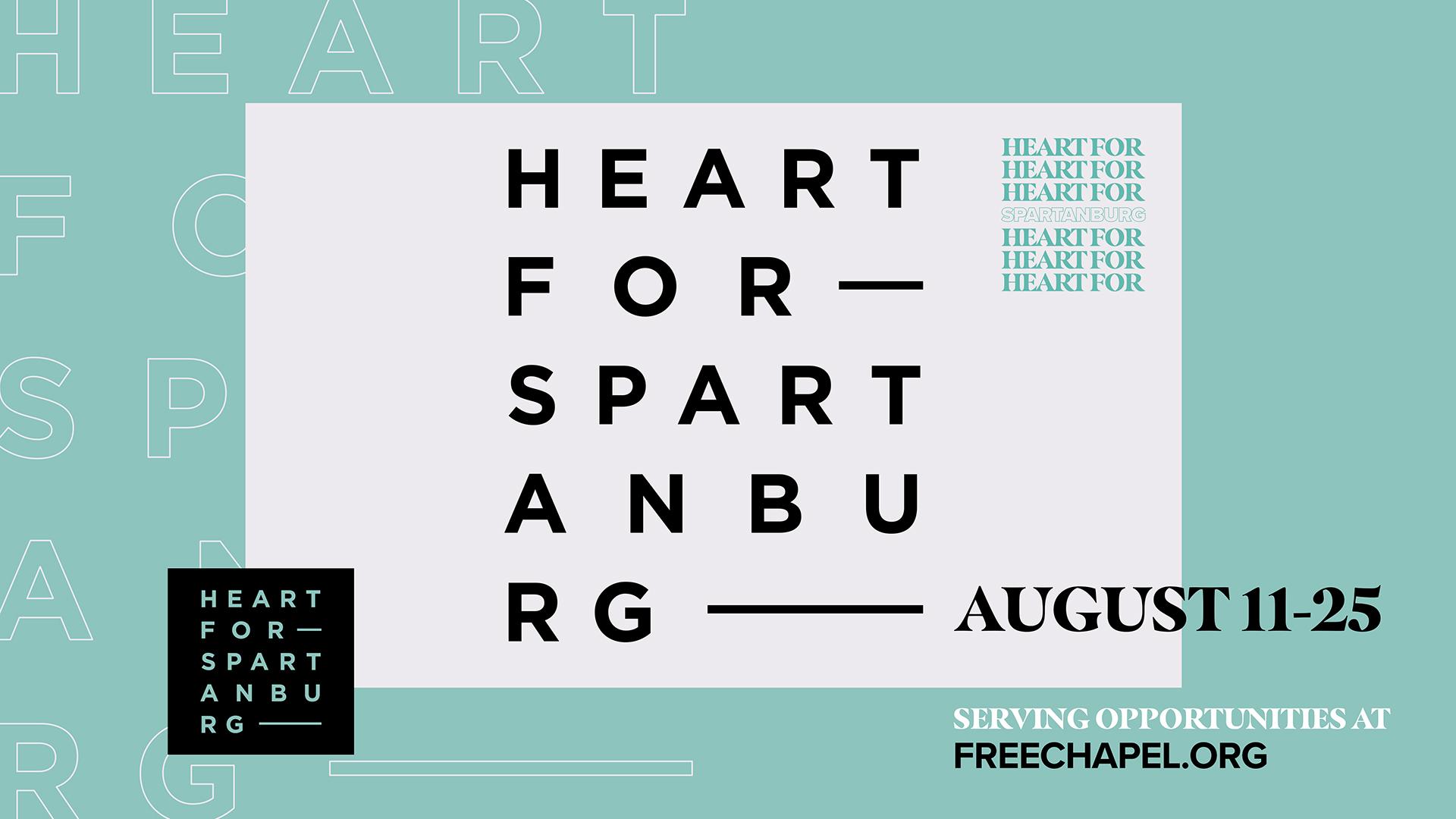 Heart For Spartanburg at the Spartanburg campus