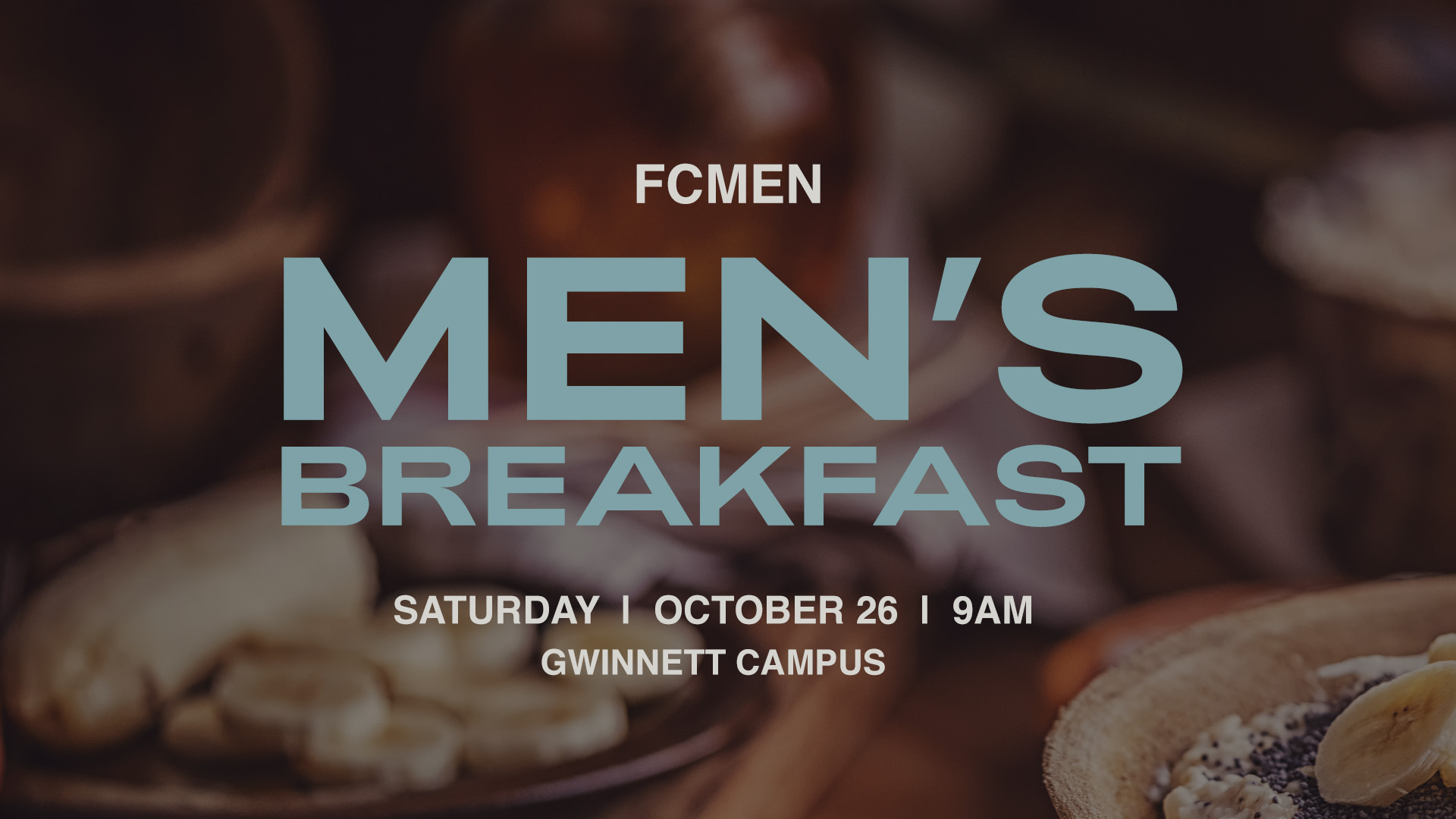 FCMen's Breakfast at the Gwinnett campus