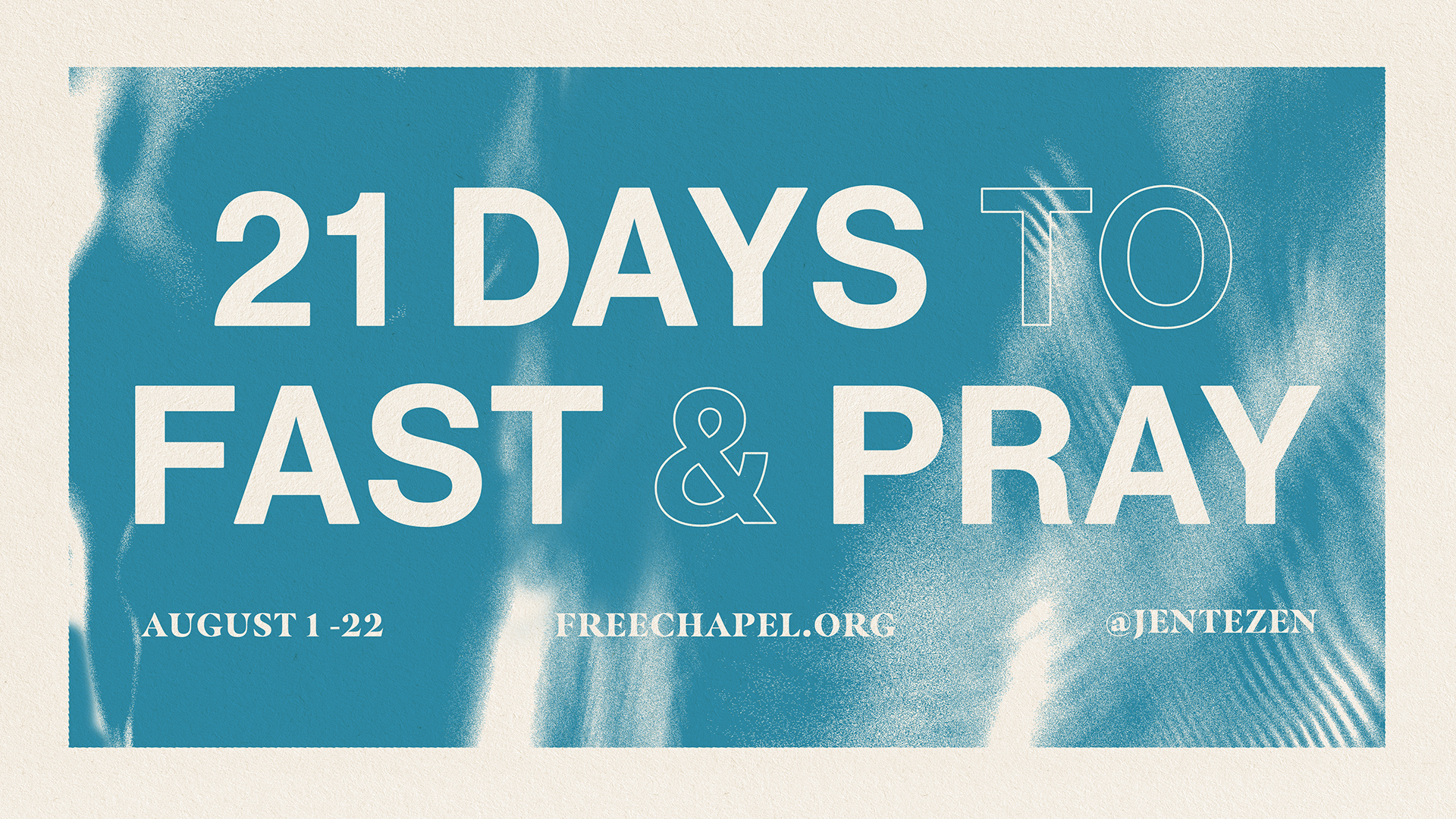 21 Day Fast at the Spartanburg campus