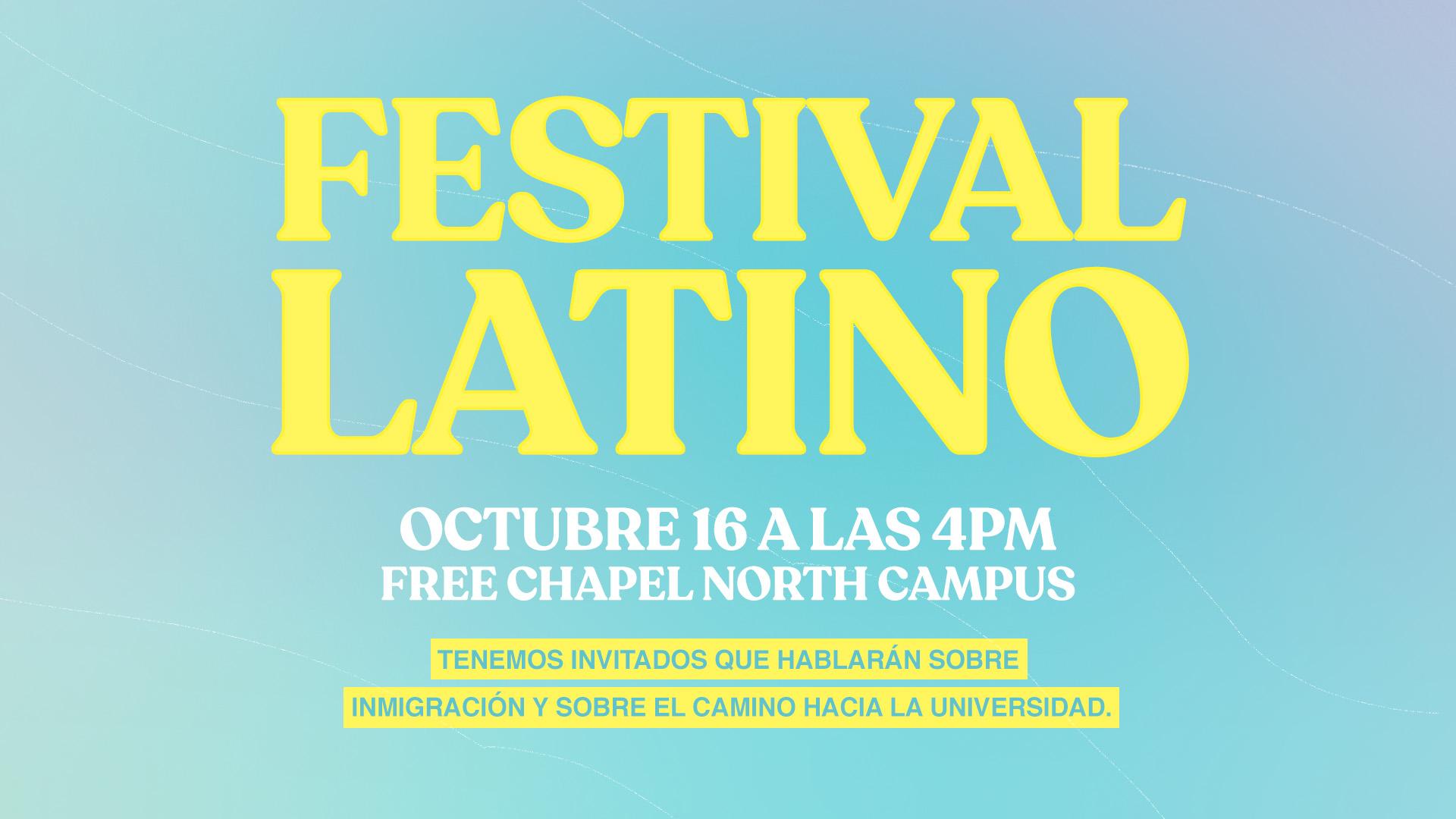Festival Latino at the Cumming campus