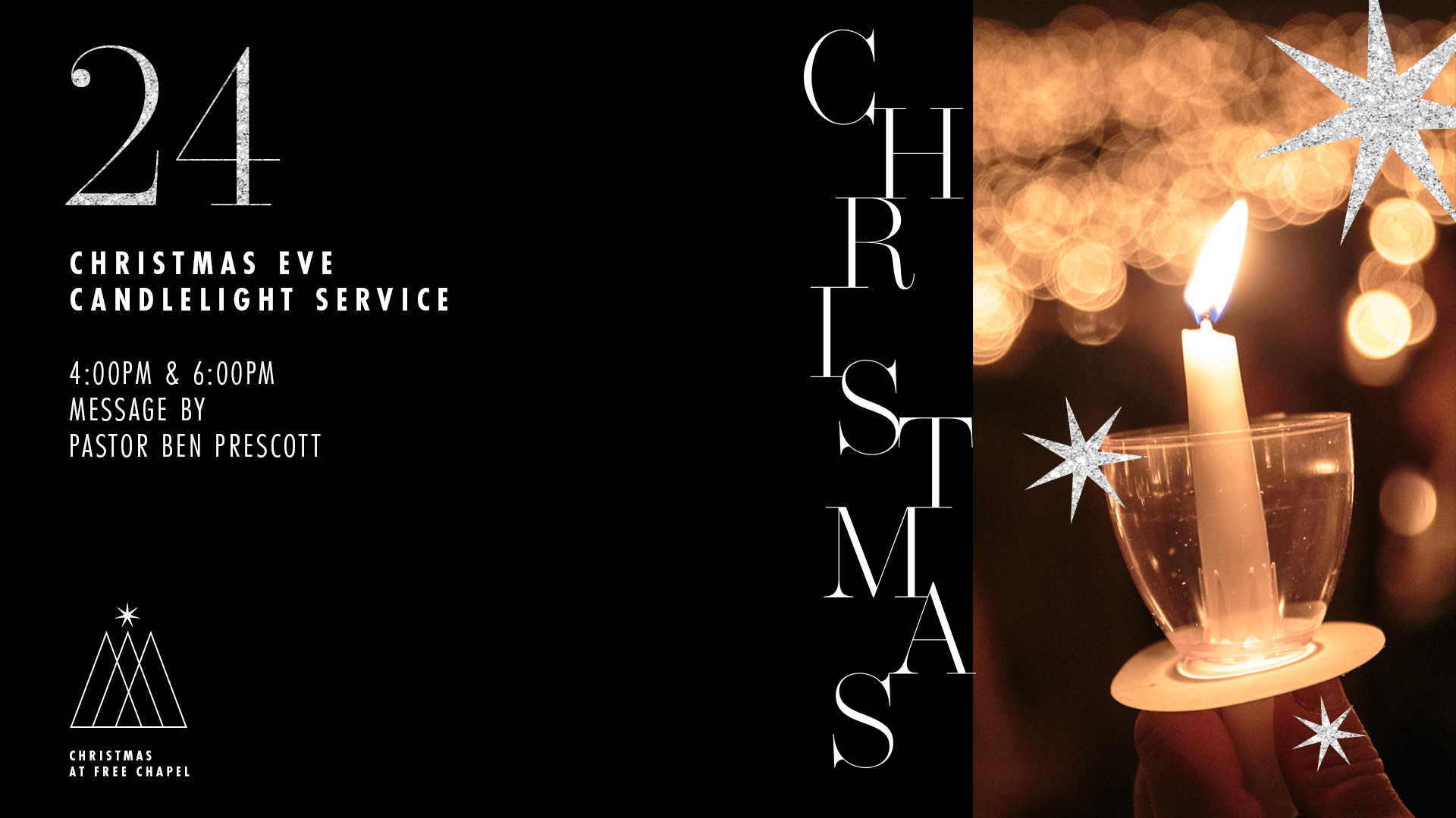 Christmas Eve Candlelight Service at the Orange County campus