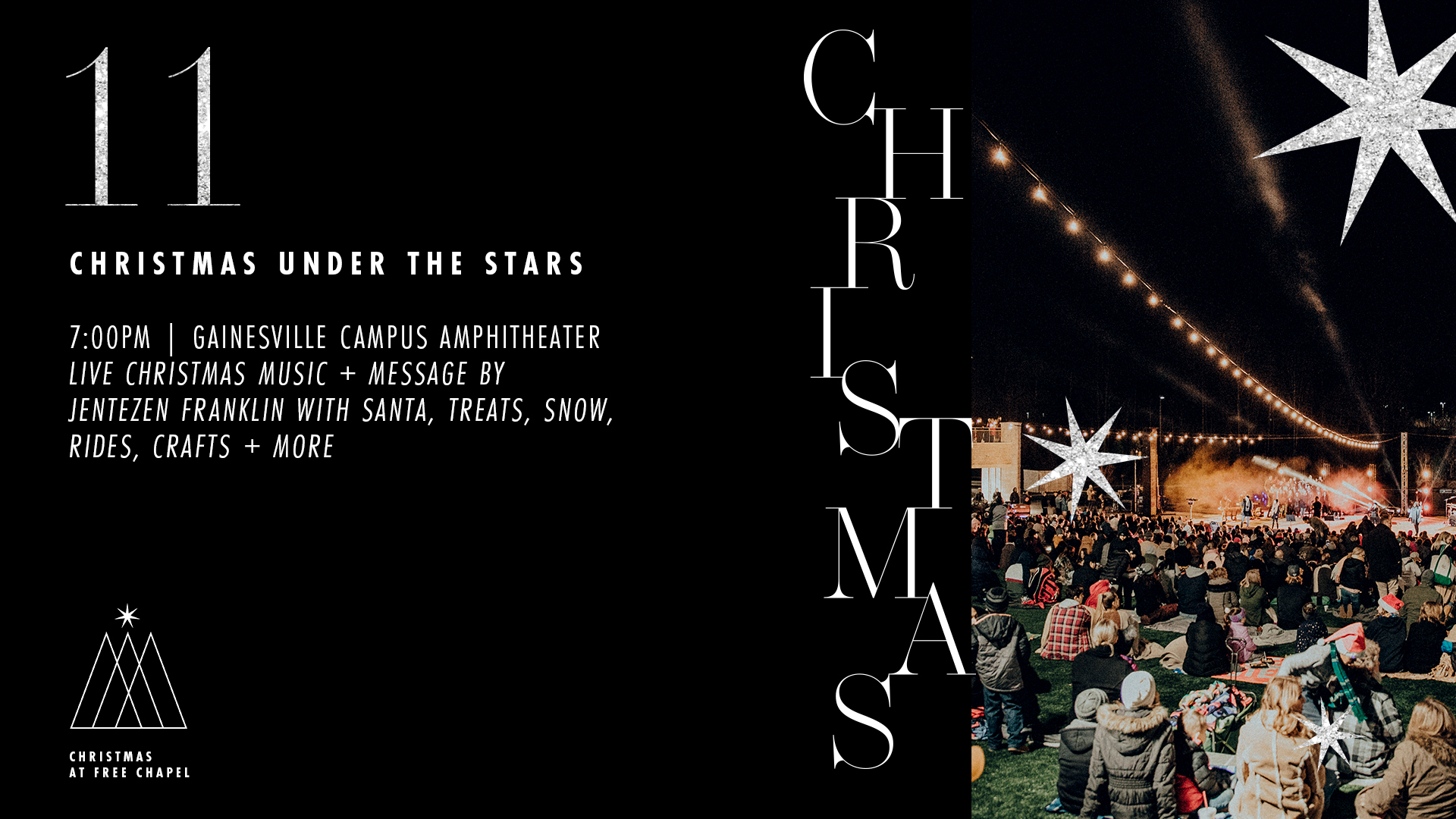 Christmas Under The Stars at the Buford campus