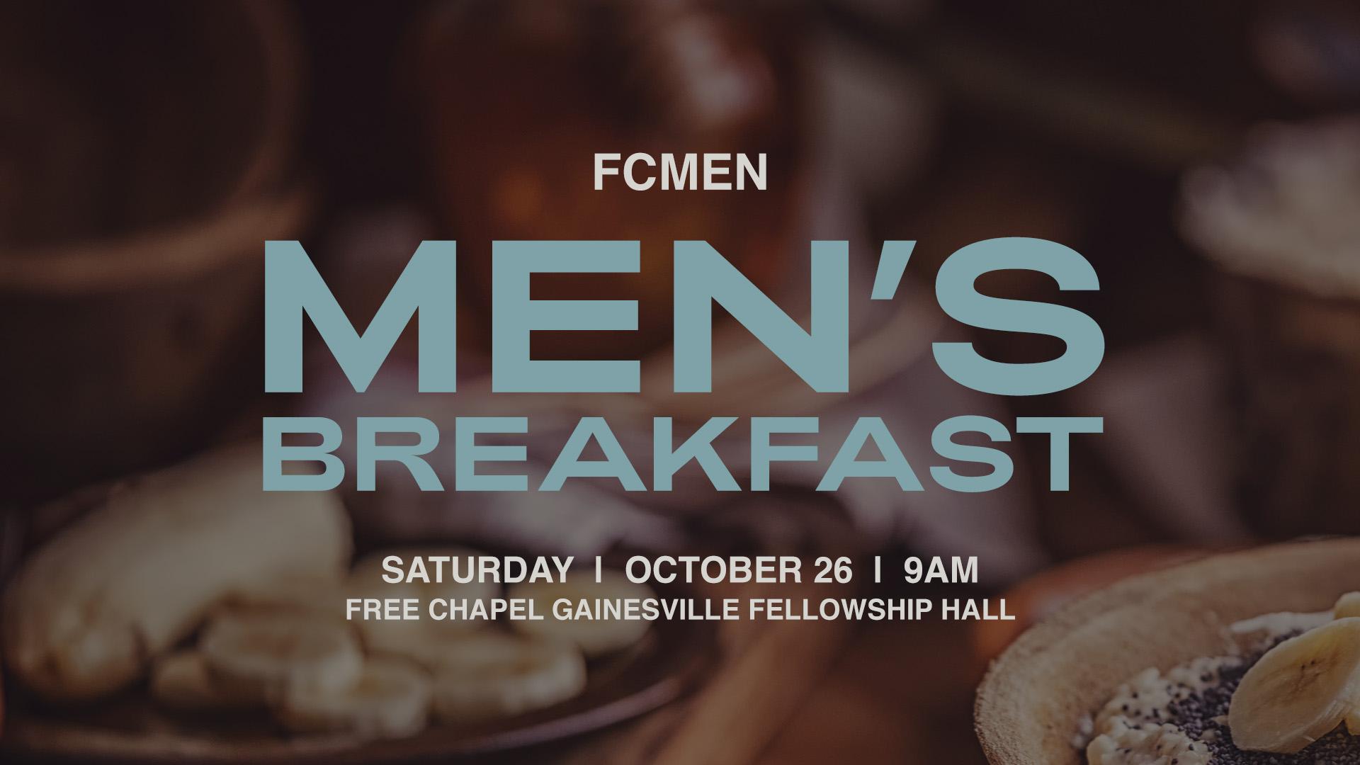 FCMen's Breakfast at the Gainesville campus