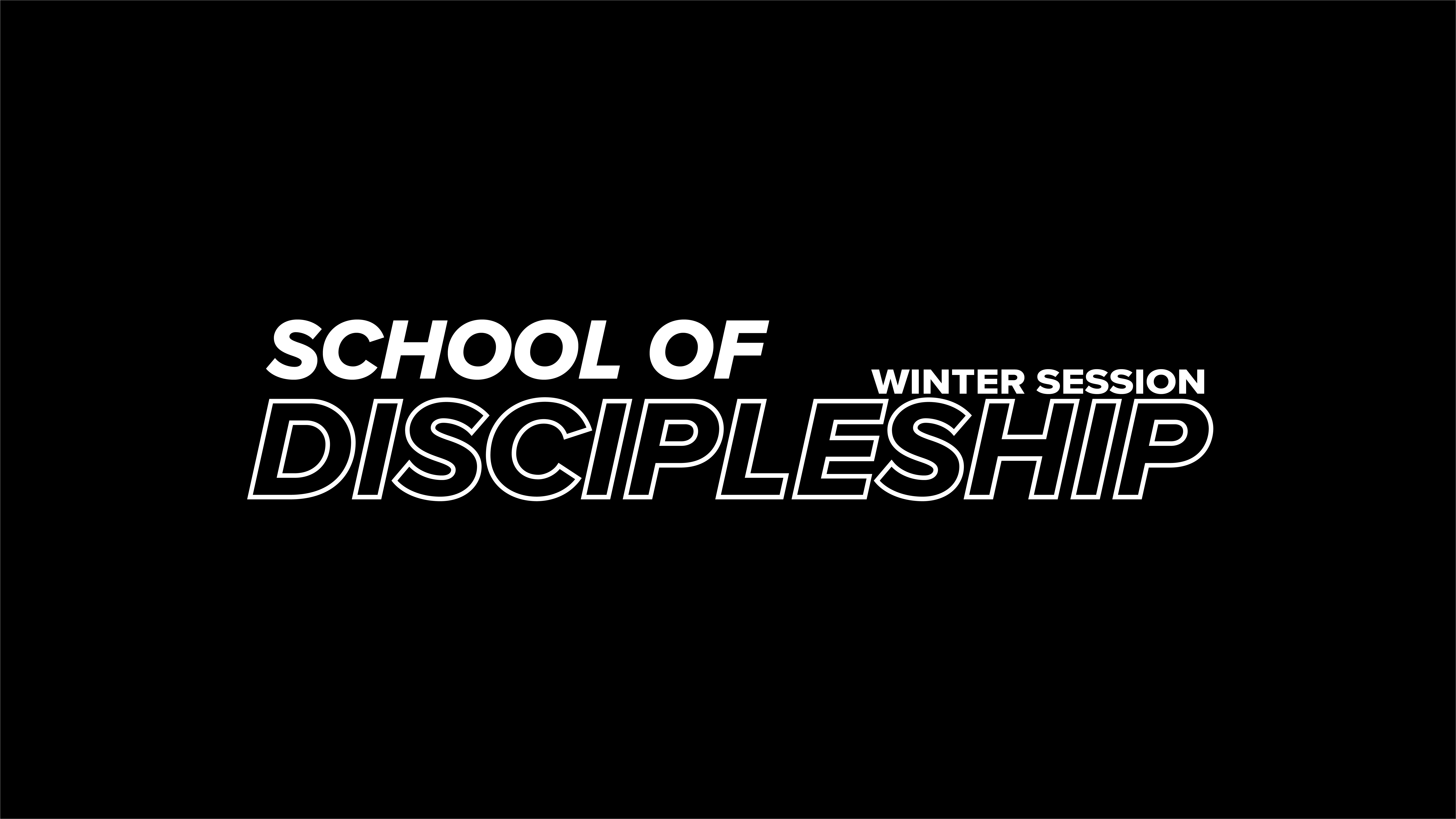 School of Discipleship On Demand at the Orange County campus