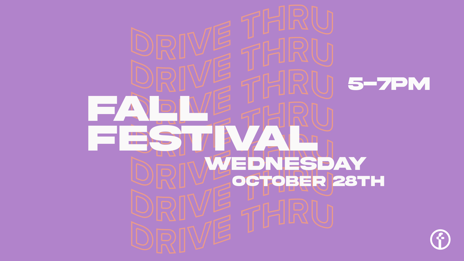 Fall Festival Drive-Thru at the Orange County campus