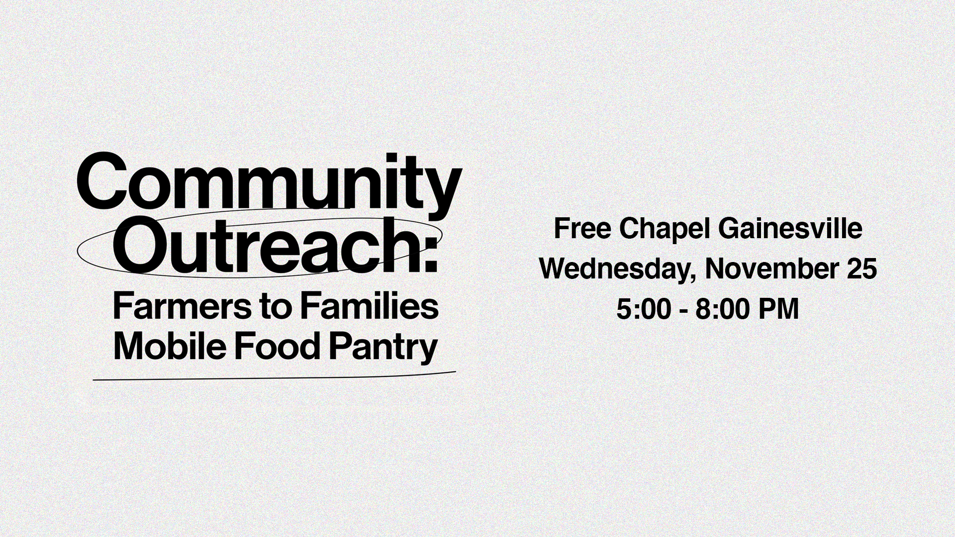 Community Outreach at the Gainesville campus
