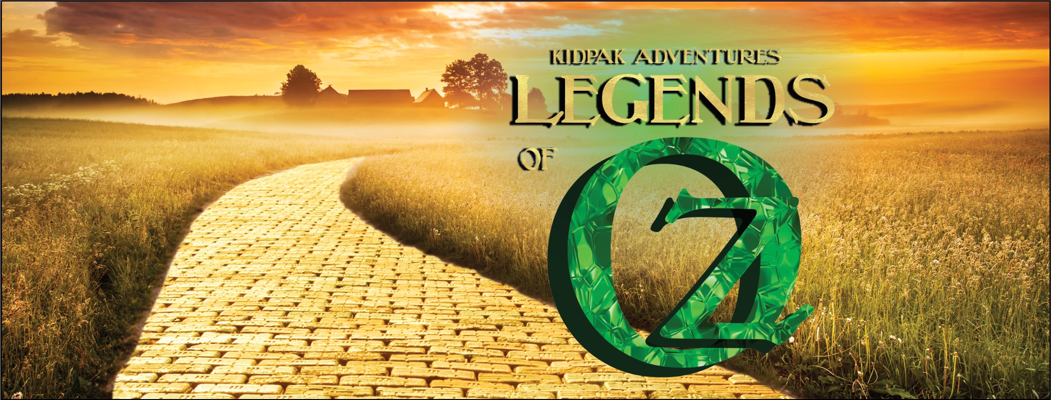You're not in Kansas anymore!Get ready to follow a path of adventure unlike anything you've ever seen!Along the Yellow Brick Road, we'll be learning from the Bible and some classic characters from Oz about wisdom, love, courage, and being thankful for the many blessings we have.There's no place like KidPak, so join us for a series that's somewhere over the rainbow!It's KidPak Adventures:Legends of Oz!