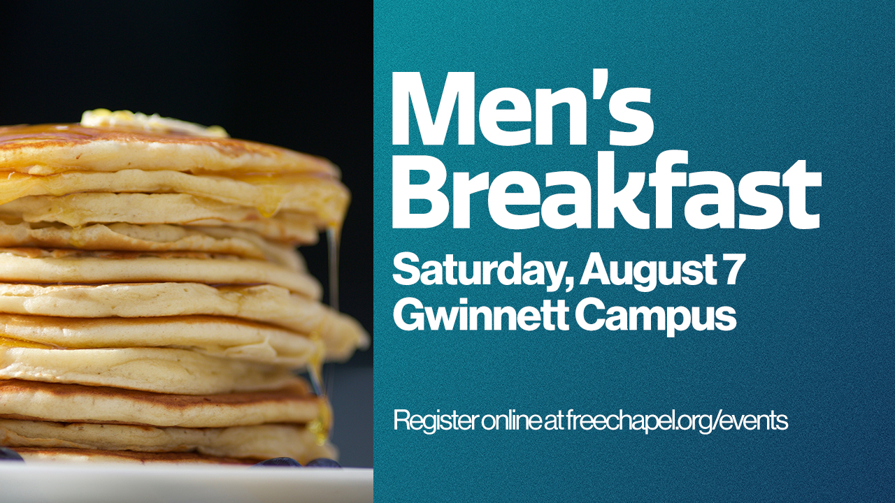 Men's Breakfast at the Gwinnett campus