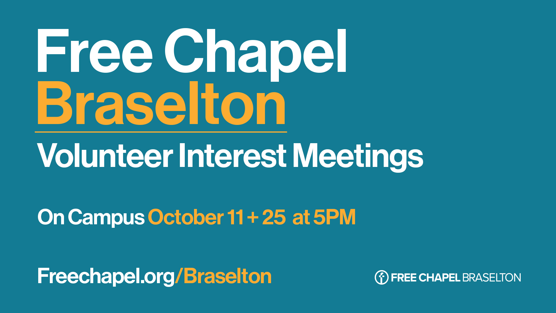 Free Chapel Braselton at the Gwinnett campus