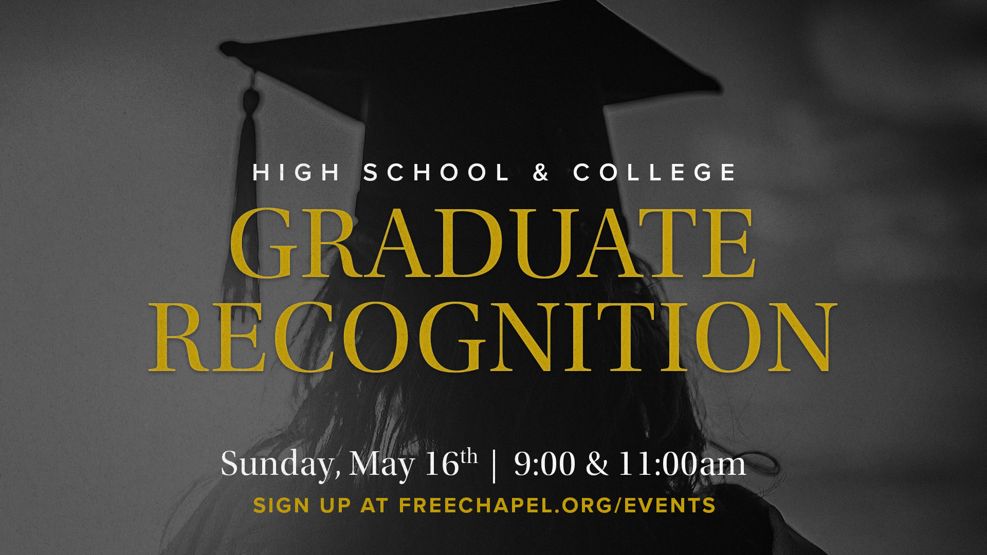 Graduate Recognition at the Orange County campus