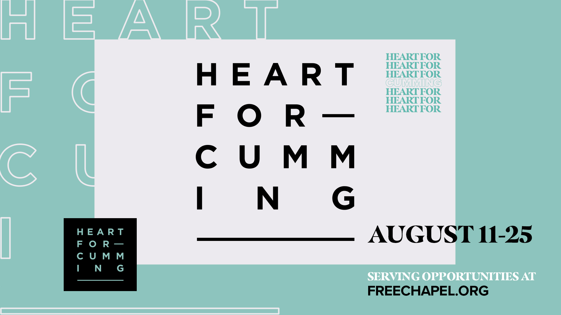 Heart For Cumming at the Cumming campus