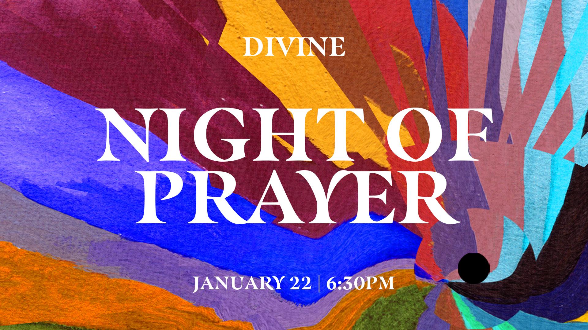 Divine Night of Prayer at the Cumming campus