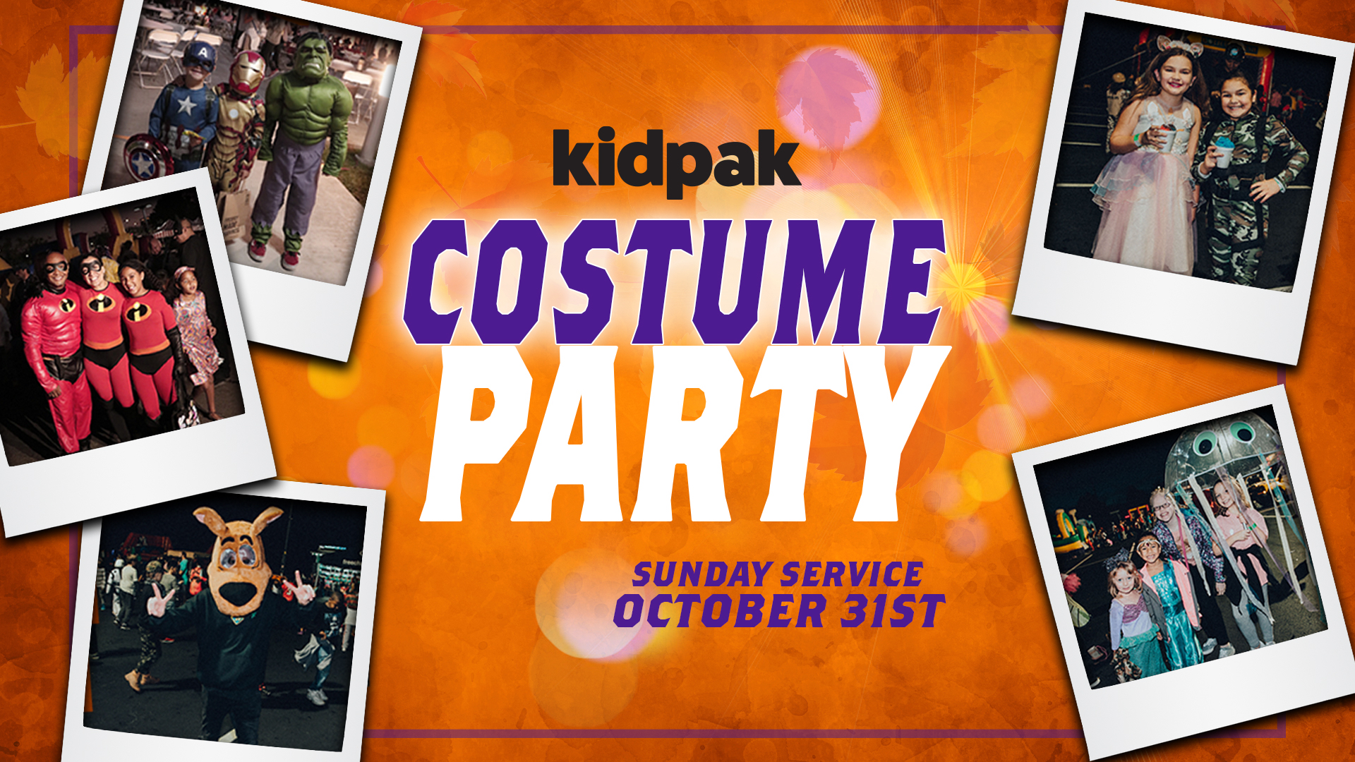 KidPak Costume Party at the Midtown campus
