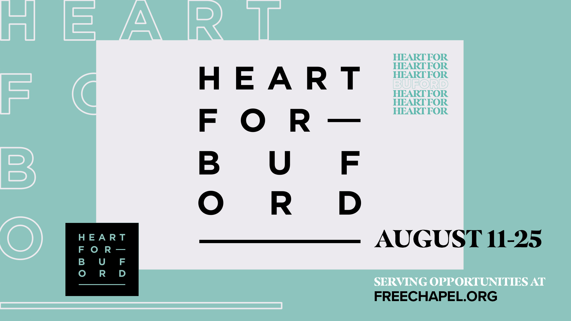 Heart For Buford at the Buford campus