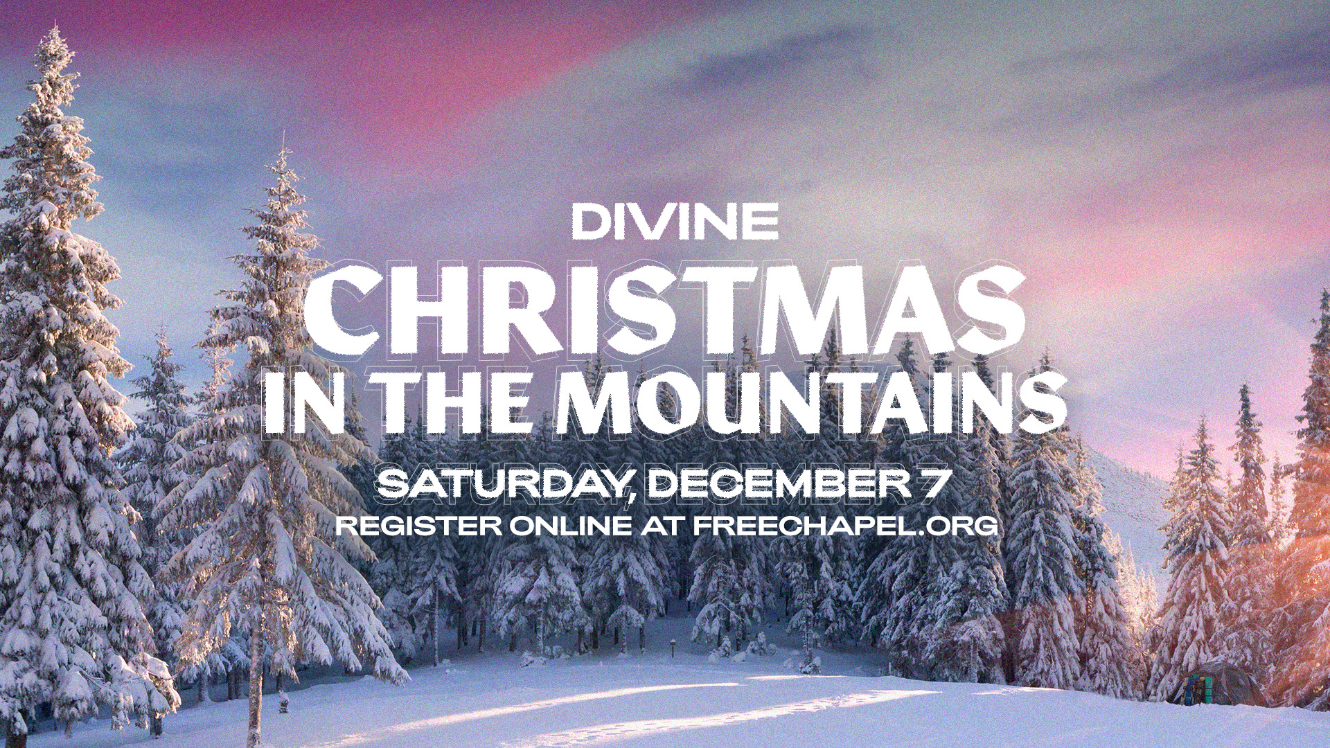 Divine Christmas in the Mountains at the Gainesville campus