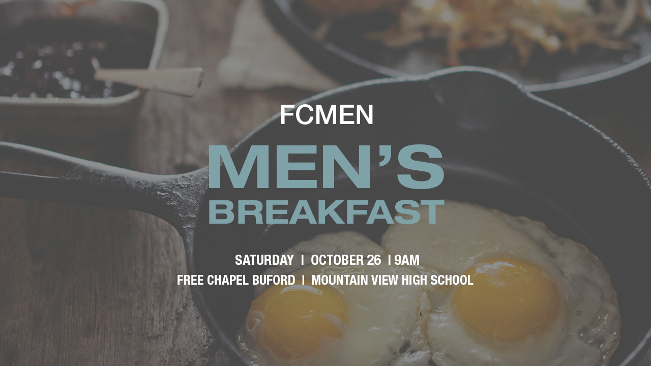 FCMen's Breakfast at the Buford campus